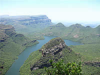 South Africa overland tours with Zafari Tours - Blyde River Canyon